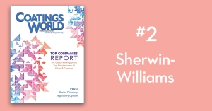 2018 Top Companies Report Countdown: No. 2 Sherwin-Williams