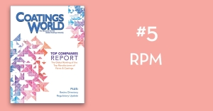 2018 Top Companies Report Countdown: No. 5 RPM