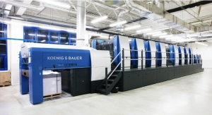 Koenig & Bauer Showcases Eight-color Rapida 145 for 4-over-4
