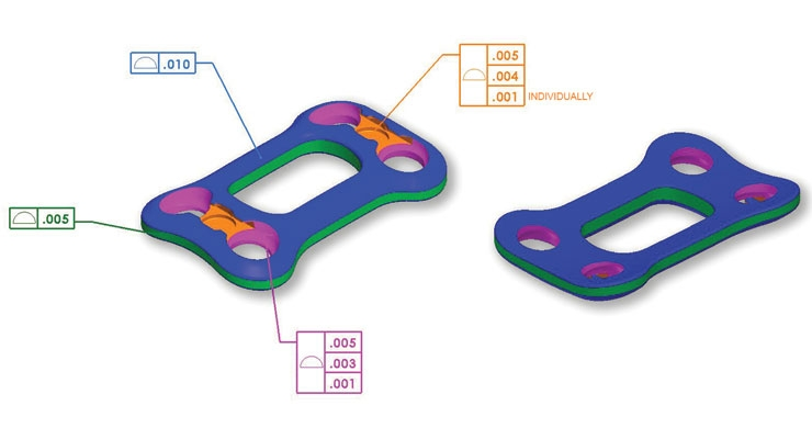 A fully optimized CAD model to provide clear design intent. Image courtesy of Lowell Inc.