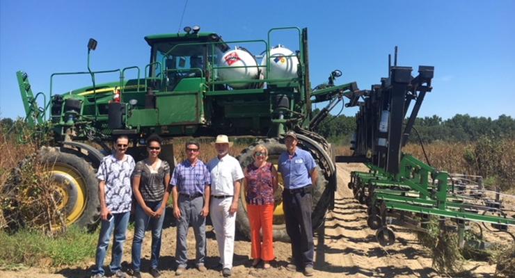 Staff of Sen. Tim Scott Tours Nature's Way Garnay Ginkgo Farm