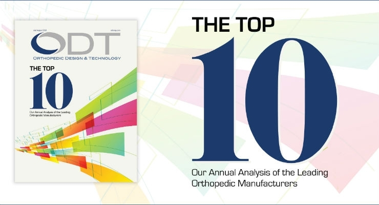 2018 Top 10 Global Orthopedic Device Firms