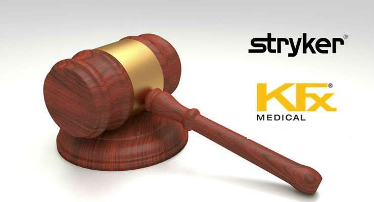 KFx Medical Sues Stryker for Rotator Cuff Repair Patent Infringement