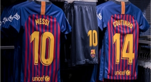 Avery Dennison Secures Global Contract with F.C. Barcelona to Supply Names, Numbers for Team Jerseys