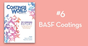 2018 Top Companies Report Countdown: No. 6 BASF Coatings