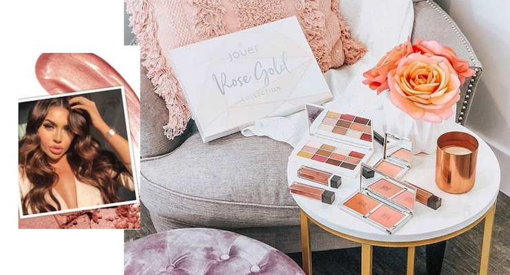 Jouer Cosmetics Launches Rose Gold Collection at LA Pop-Up