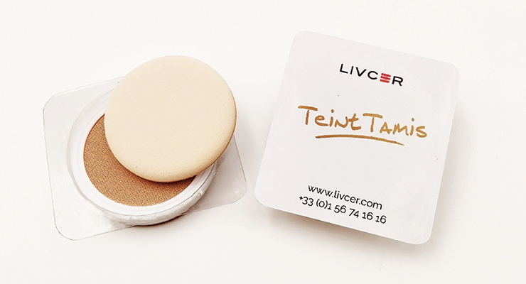 Livcer's 'Teint Tami,' ideal for sampling cushion foundation makeup