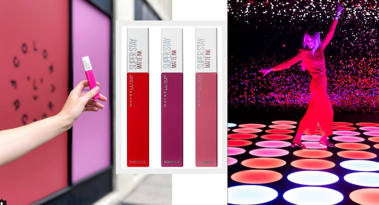 Maybelline Sponsors Color Factory in NYC