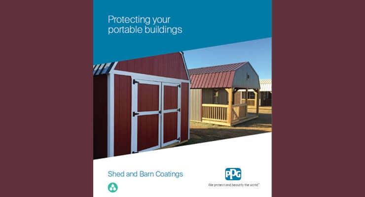 PPG Highlights Shed, Barn Coatings in New Brochure