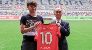 FUJIFILM Starts Partnership with Fortuna Düsseldorf