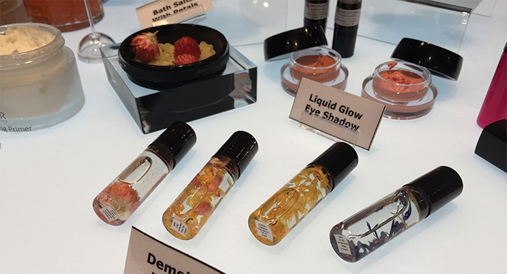 A rising interest in J-Beauty brought Japanese  supplier Nippon Shikizai to the Paris event.