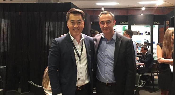 HCT Group: Jae Chong (L); Arnaud Audebourg