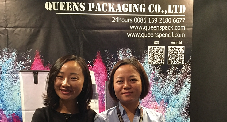 Queens Packaging: Simmer Wang (L); Vivian Yin