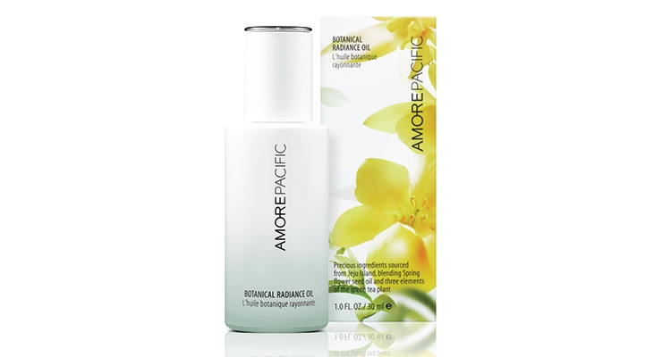 Amorepacific Botanical Radiance Oil Works on Skin and Hair