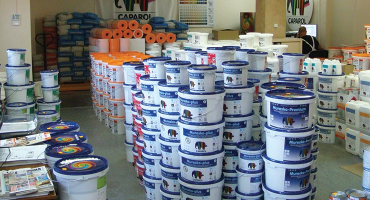 Ukraine produces more coatings despite problems with raw materials.
