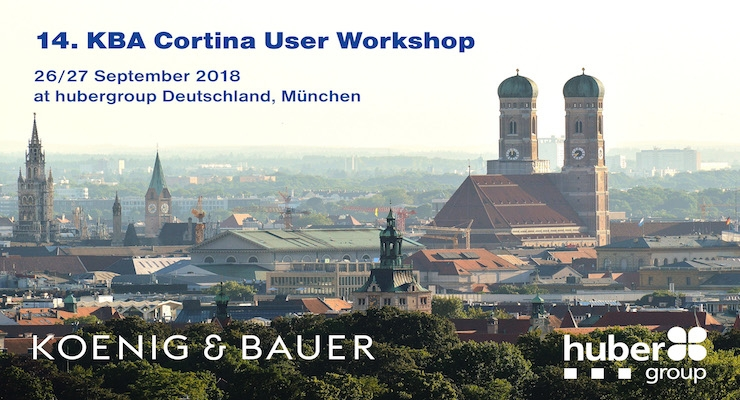 hubergroup Hosts KBA Cortina User Workshop