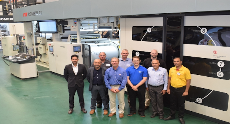 Siegwerk, Henkel, Comexi, ESI Demonstrate Printing with EB 730 Curable Inks