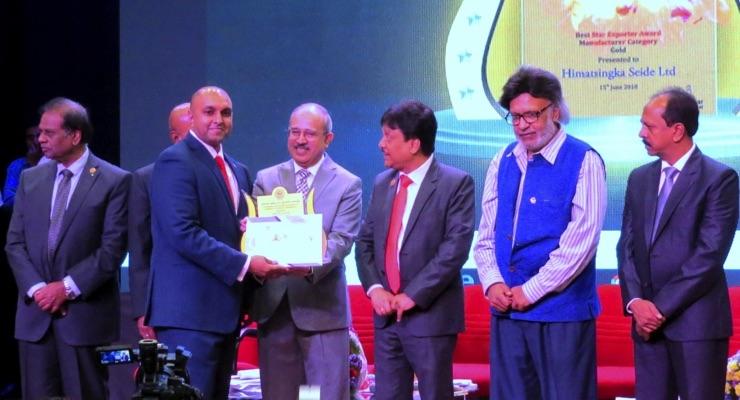 Sami-Sabinsa Recognized for Export Achievement