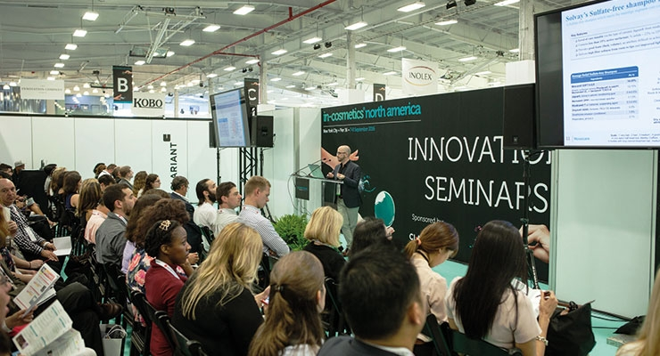 During Innovation seminars, exhibitors get the opportunity to extol the virtues of their products and services.