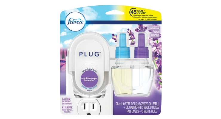 This plug-in is said to banish odor for up to 45 days.