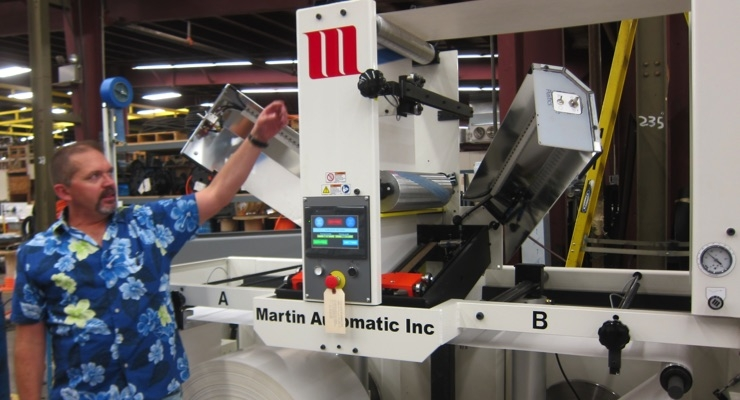 Rittmeyer explains how Martin Automatic uses laser technology