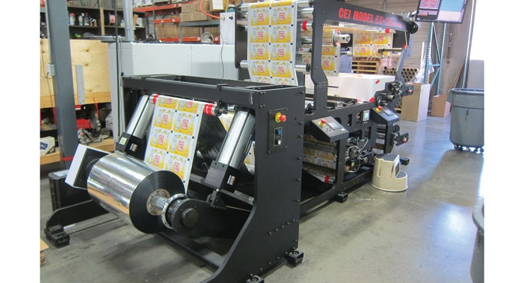 The Revere Group's CEI slitter rewinder