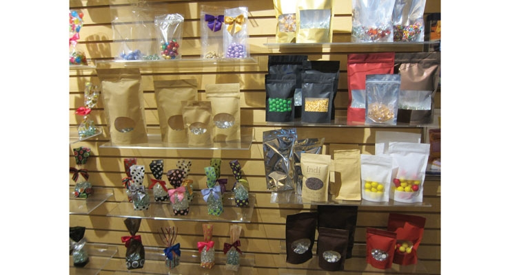 The Revere Group offers several stock bags and flexible packaging for the candy market.