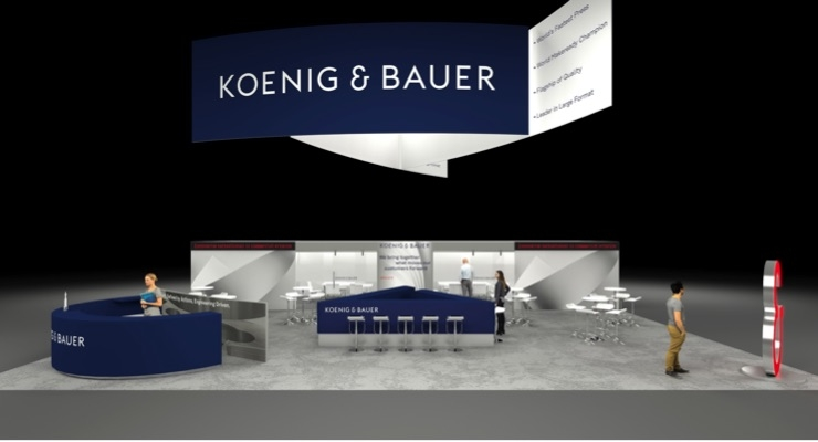 Koenig & Bauer Showcases Innovations in Commercial Market at PRINT 18 in Chicago