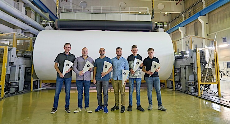 Zanders appoints six new apprentices