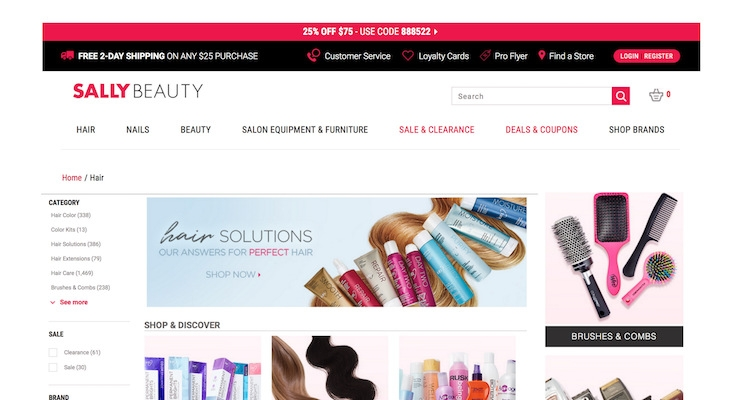 Sally Beauty Partners with IBM