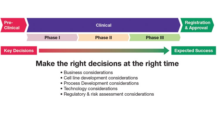 Figure 1. The long journey from decisions to success