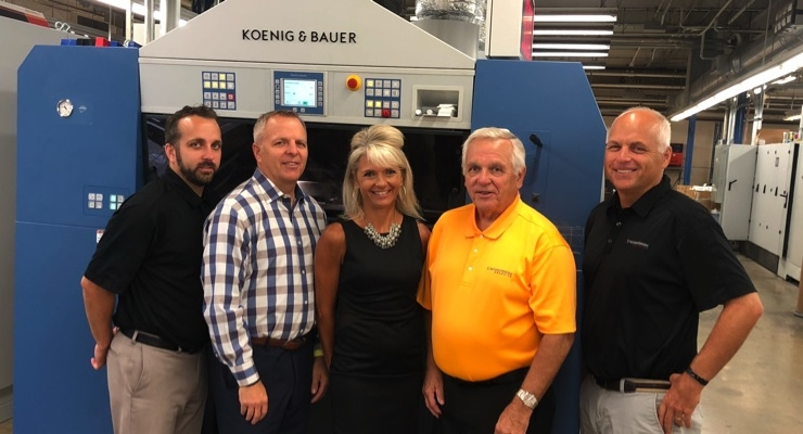 Crossmark Graphics Adds Second Koenig & Bauer Rapida 106 Six-Color Press