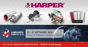 Harper Corporation of America Exhibits at Labelexpo Americas 2018