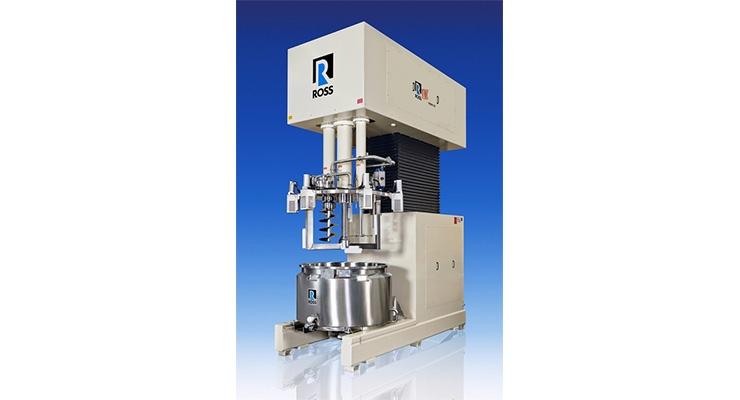 ROSS Designs Custom Multi-Shaft Mixer