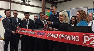 P2 Science Dedicates Manufacturing Plant