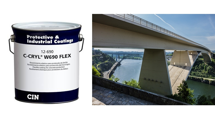 CIN's Anticorrosion Protection Covers Bridges, Viaducts, Concrete Tanks in Maritime Environments
