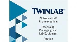 October 2018: Nutraceutical/Pharmaceutical Equipment Auction