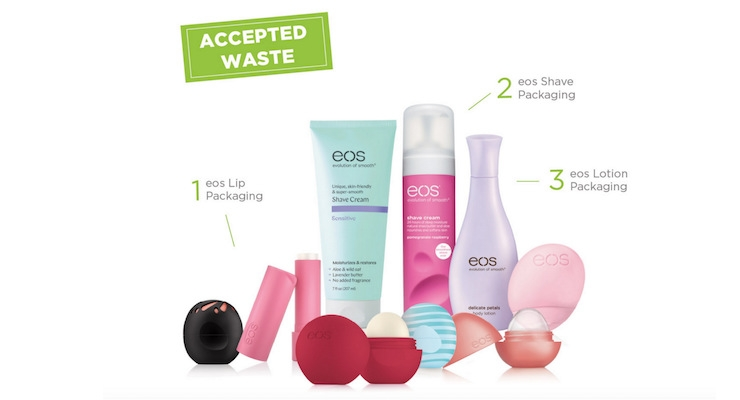Consumers Can Recycle EOS Packaging through TerraCycle