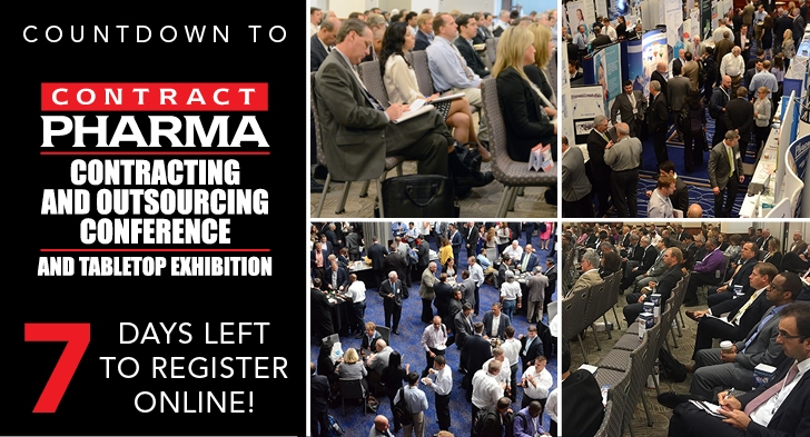 Register for Contract Pharma 2018!