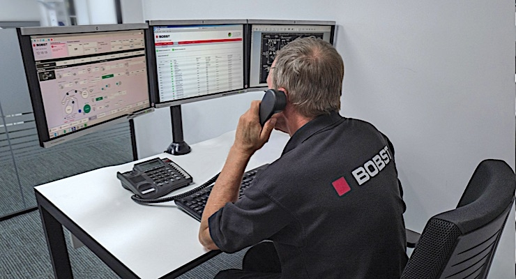 Bobst offering remote services to customers
