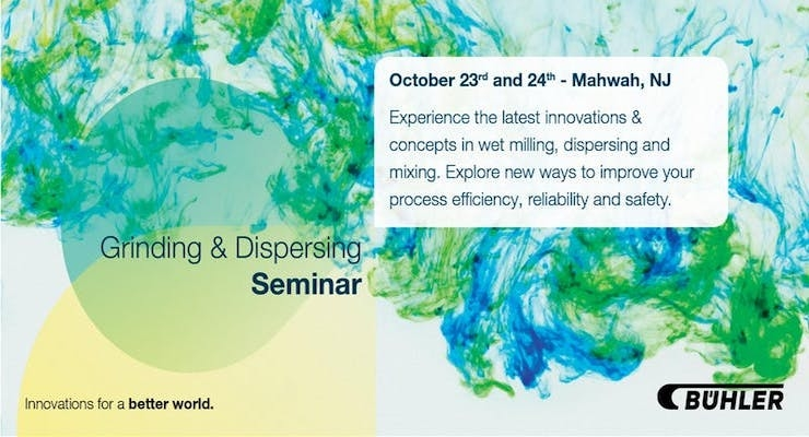 Bühler Holds Grinding, Dispersing Seminar