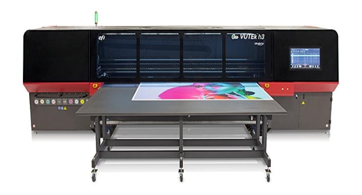 Béflex's New EFI VUTEk h Series Printer Provides Quality, Productivity