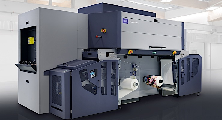 Durst exhibits new RSC digital printing technology