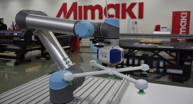 Mimaki Brings Workflow Automation, New Ink to FachPack