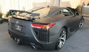 Toyota approves PPG matte clearcoat for new Lexus LFA supercar