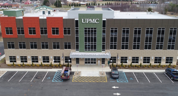 Sherwin-Williams Case Study: UPMC Outpatient Center