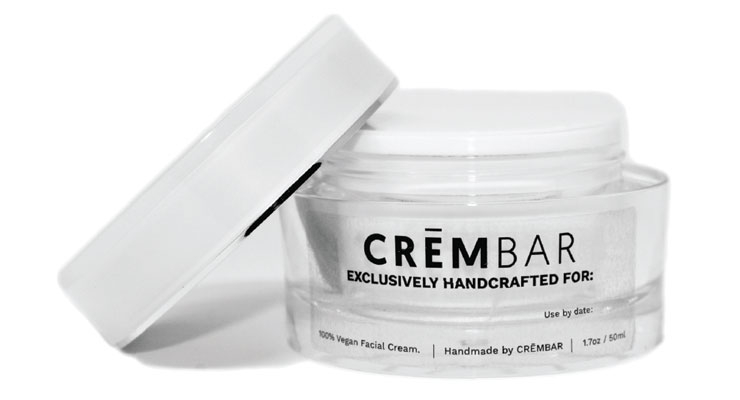 CremBar, a start-up, allows  customers to pick the base and key ingredients  in their skin cream.