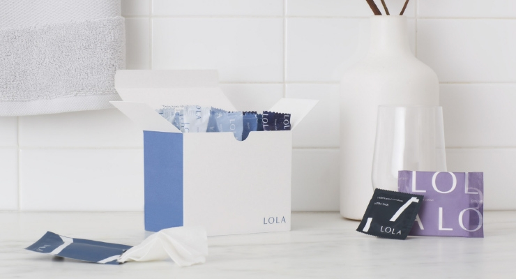 Direct-to-consumer brand Lola, makers of organic feminine care products / Image Credit: Lola