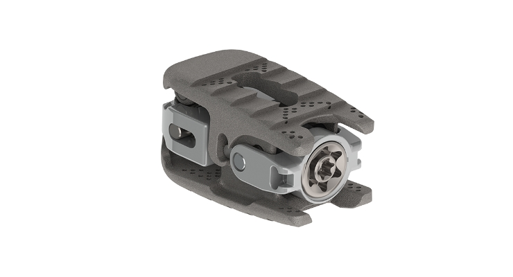 The MOJAVE PL 3D Expandable Interbody System. Image courtesy of K2M Group Holdings Inc.