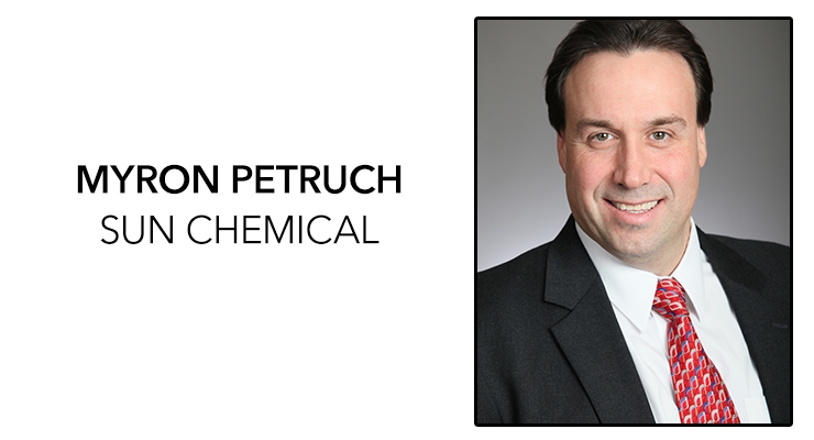 Myron Petruch has been named the new president and CEO of Sun Chemical, effective Jan. 1, 2019. (Source: Sun Chemical)